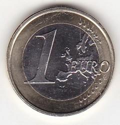 Coin > 1euro, 2014-2016 - Andorra  - obverse