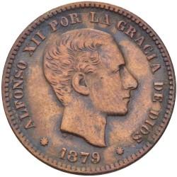 Moneda > 5céntimos, 1877-1879 - España  - obverse