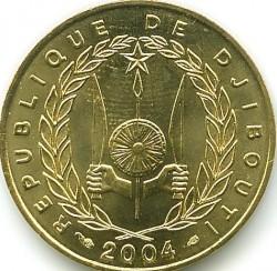 Монета > 10франков, 1977-2017 - Джибути  - obverse