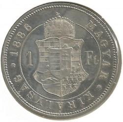 Moeda > 1florin, 1882-1890 - Hungria  - reverse