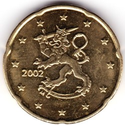 Moneta > 20centų, 1999-2006 - Suomija  - reverse