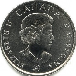 Coin > 25cents, 2008 - Canada  (90th Anniversary of the end of World War I) - obverse