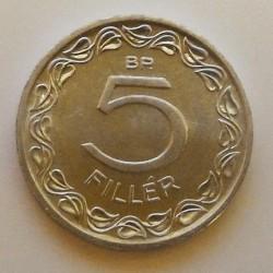 Moneta > 5filler, 1990-1992 - Ungheria  - reverse