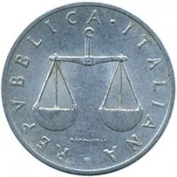 Moneta > 1lir, 1951-2001 - Włochy  - obverse