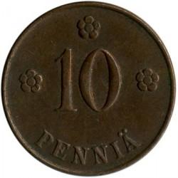 Münze > 10Penny, 1919 - Finnland  - reverse