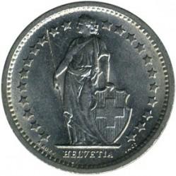 Moneta > ½franka, 1968-2019 - Szwajcaria  - obverse