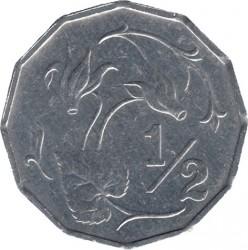 Pièce > ½cent, 1983 - Chypre  - reverse