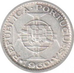 Moneta > 5escudo, 1960 - Mozambik  - reverse