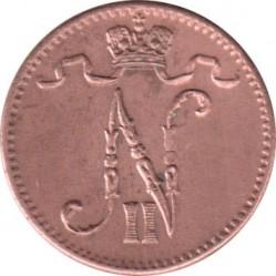 Moneta > 1pensas, 1895-1916 - Suomija  - obverse
