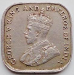Moneda > 5cents, 1912-1926 - Ceilan  - obverse