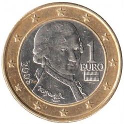 Coin > 1euro, 2008-2017 - Austria  - reverse