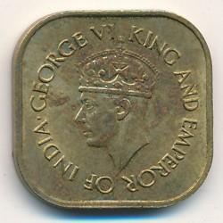 Moneta > 5centesimi, 1944-1945 - Ceylon  - obverse