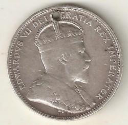 מטבע > 25סנט, 1902-1909 - קנדה  - obverse