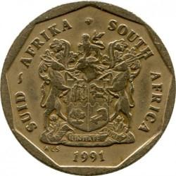 Moneta > 50centų, 1990-1995 - Pietų Afrika  - obverse