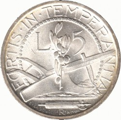 Moneda > 5liras, 1931-1938 - San Marino  - reverse