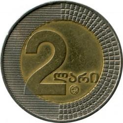 Monedă > 2lari, 2006 - Georgia  - obverse