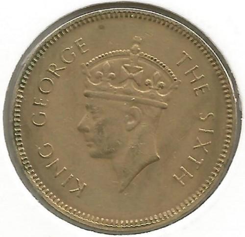50 Cent 1951 Ceylon Münzen Wert Ucoinnet