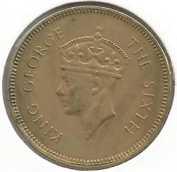 Coin > 50cents, 1951 - Ceylon  - obverse