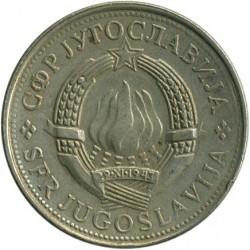 Moneda > 5dinares, 1981 - Yugoslavia  - obverse