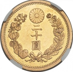 Coin > 20yen, 1897-1912 - Japan  - obverse