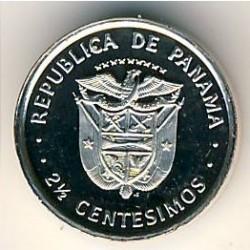 Монета > 2½сентесимо, 1975-1982 - Панама  - obverse