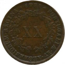 Кованица > 20реиса, 1847-1853 - Португал  - reverse