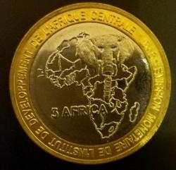 Moneta > 4500franków, 2005 - Czad  (Wzrost gospodarczy) - reverse