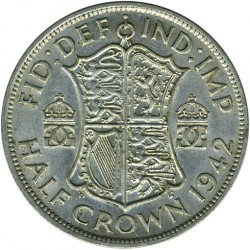 錢幣 > ½克郎, 1937-1946 - 英國  - reverse