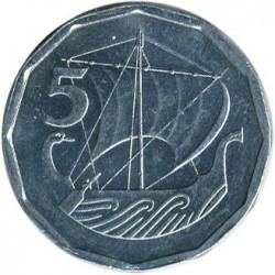 Moneda > 5mils, 1981 - Xipre  - obverse