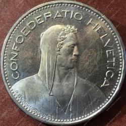 Moneta > 5franków, 1989 - Szwajcaria  - obverse