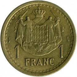 Moneta > 1frank, 1945 - Monako  - reverse