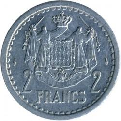 Coin > 2francs, 1943 - Monaco  - reverse
