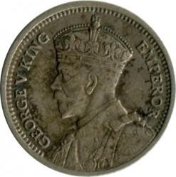 Монета > 3пенса, 1933-1936 - Новая Зеландия  - obverse