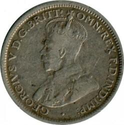 Moneda > 6pence, 1911-1936 - Austràlia  - obverse