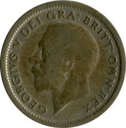 Moeda > 6pence, 1927 - Reino Unido  - reverse
