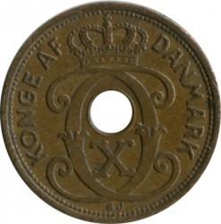 Coin > 1ore, 1926-1940 - Denmark  - obverse
