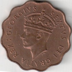 Coin > ½piastres, 1949 - Cyprus  - obverse