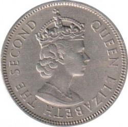 Монета > 20центов, 1954-1961 - Малайя и Британское Борнео  - obverse