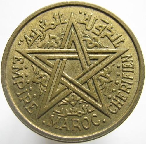 2 فرنكات 1945, المغرب - السعر - uCoin.net