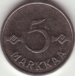 Münze > 5Mark, 1954 - Finnland  - reverse