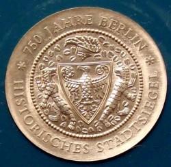 Moneda > 20marcos, 1987 - Alemania - RDA  (750th Anniversary of Berlin) - reverse