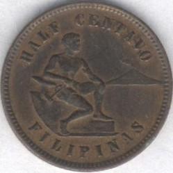 Mynt > ½centavo, 1903-1908 - Filippinene  - reverse