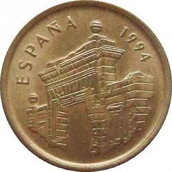 سکه > 5پزوتا, 1994 - اسپانیا  (Aragon) - obverse