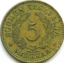 Münze > 5Mark, 1941 - Finnland  - reverse