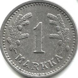 Münze > 1Mark, 1944 - Finnland  - reverse