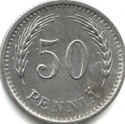 Münze > 50Penny, 1943 - Finnland  - reverse