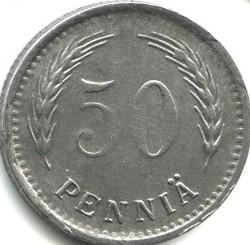 Münze > 50Penny, 1944 - Finnland  - reverse