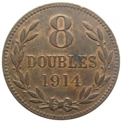 Münze > 8Doubles, 1914-1949 - Guernsey  - obverse