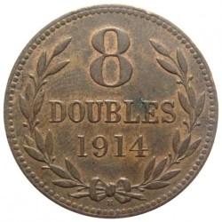 Münze > 8Doubles, 1914-1949 - Guernsey  - reverse