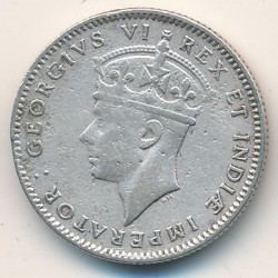Coin > 50cents, 1937-1944 - British East Africa  - obverse
